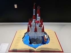 A children's castle pop-up book.