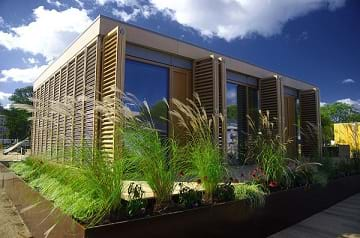 A passive house designed by the Darmstadt University of Technology for hot and humid subtropical climate