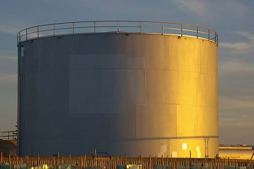 Above Ground Storage Tanks In The Houston Ship Channel
