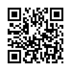 A QR code for the URL of the English Wikipedia Mobile main page.